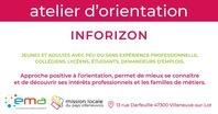 Atelier d'orientation - Inforizon