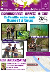 Initiation pêche d'été