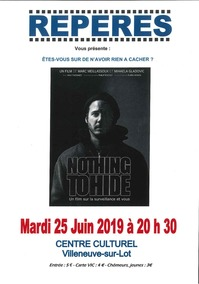 Repères : Nothing to hide