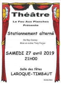 """Théâtre """"Stationnement alterné"""""""