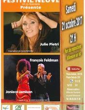 Concert Julie Pietri - Joniece Jamison - François Feldman