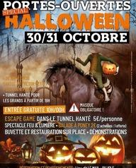 Portes-ouvertes spécial Halloween
