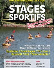 Stage sportif