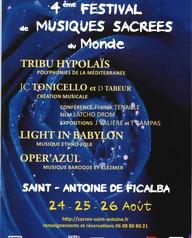 Festival des Musiques Sacrées du monde