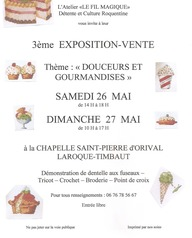 Exposition - vente de l'atelier Le Fil Magique