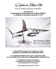 Exposition : Frédéric Buret