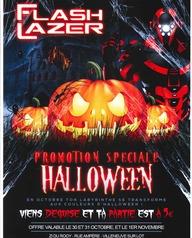 Flash Lazer Promotion Spéciale Halloween
