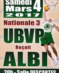 Basket Union Boudy Villeneuve Pujols reçoit Albi