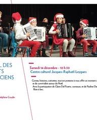 L'audition de Noël des petits musiciens