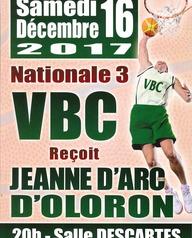 Basket: VBC reçoit Jeanne d'Arc d'Oloron