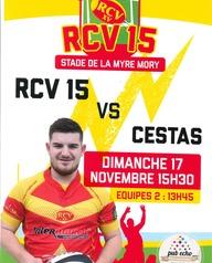 Rugby à XV : RCV reçoit Cestas