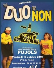 """Théâtre """"Le duo des non"""""""