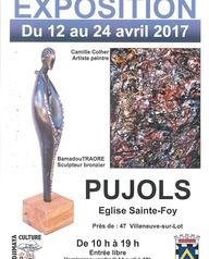 Exposition d'œuvres de Camille Colher et Bamadou Traoré