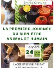 Première journée du bien être animal et humain