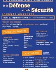 Journée des métiers de la défense et de la sécurité