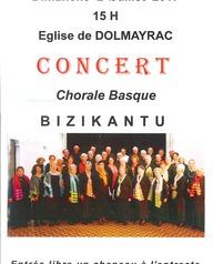 Concert Chorale Basque Bizikantu