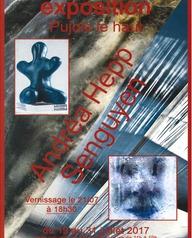 Exposition d'œuvres de Andréa Hepp et Senguyen