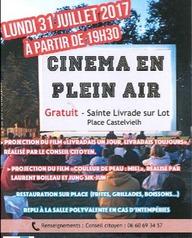 Cinéma en plein air à Sainte Livrade sur Lot