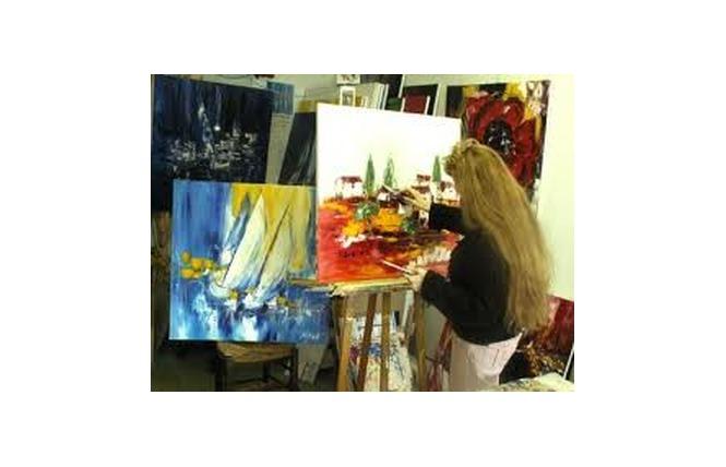 Atelier - Galerie d'artiste Corinne Vilcaz 2 - Villeneuve-sur-Lot