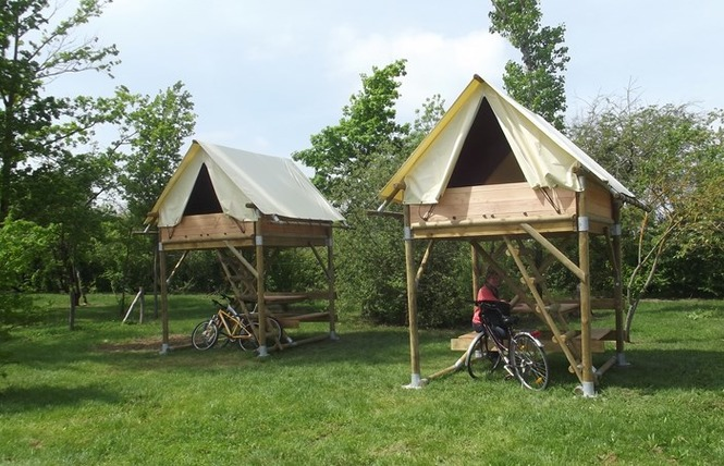 Camping Lot et Bastides 17 - Pujols