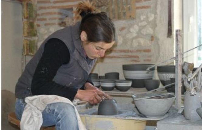 Noémie Saudel - Atelier de Poterie 1 - Saint-Étienne-de-Fougères