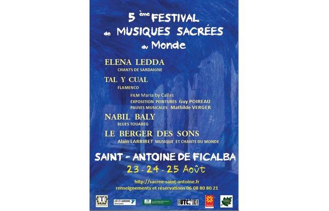 Festival des musiques sacrées du monde 1 - Saint-Antoine-de-Ficalba