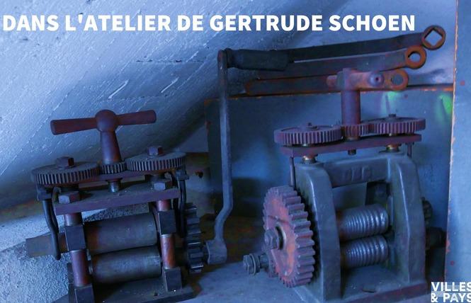 Visite libre et guidée du musée Gertrude Schoen 2 - Laroque-Timbaut