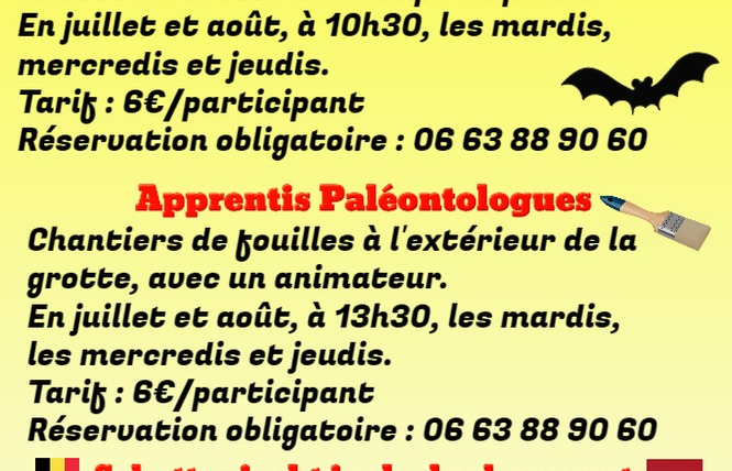 P'tite Aventure Spéléologique 1 - Sainte-Colombe-de-Villeneuve