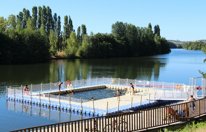 Piscine sur le Lot 1 - Sainte-Livrade-sur-Lot