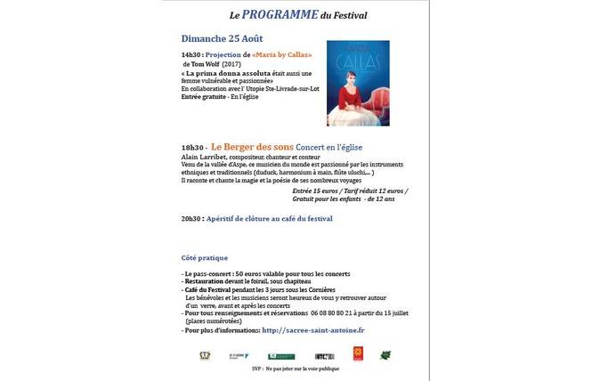 Festival des musiques sacrées du monde 4 - Saint-Antoine-de-Ficalba
