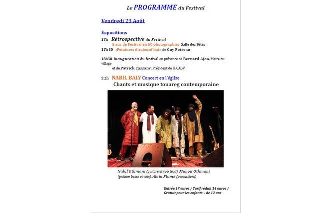 Festival des musiques sacrées du monde 2 - Saint-Antoine-de-Ficalba